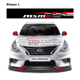 Windshield Sticker Nissan-1 Nissan Nismo Impul Front Windscreen Windshield Window Sticker