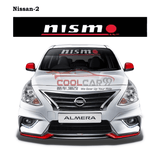 Windshield Sticker Nissan-2 Nissan Nismo Impul Front Windscreen Windshield Window Sticker