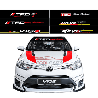 Windshield Sticker ISZ 1 TOYOTA TRD Front Windscreen Windshield Window Sticker