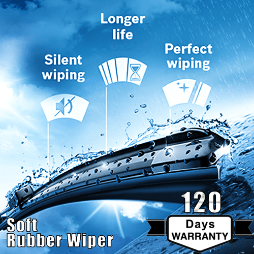 WIPER Wiper Soft Rubber Wipers Blade
