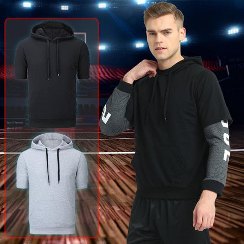 Men Loose Casual Hooded Sweater