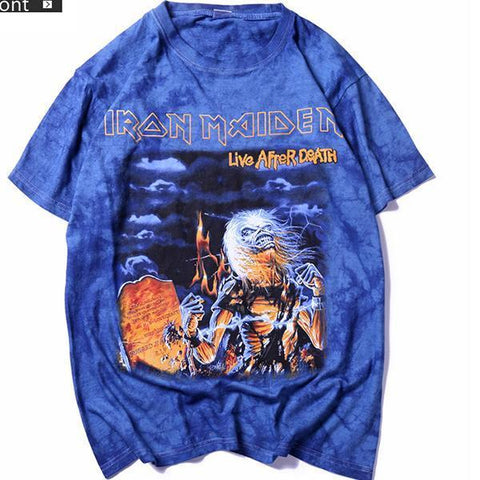 Iron Maiden Tie-Dyed T-shirt