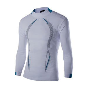 Men Long Sleeve Tight-Fitting Stretch-Dry Clothes