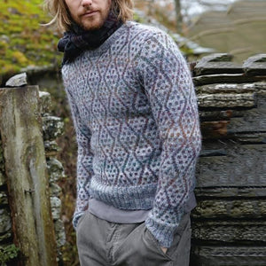 Casual Men'S Round Collar Long Sleeved Knitted Sweaters