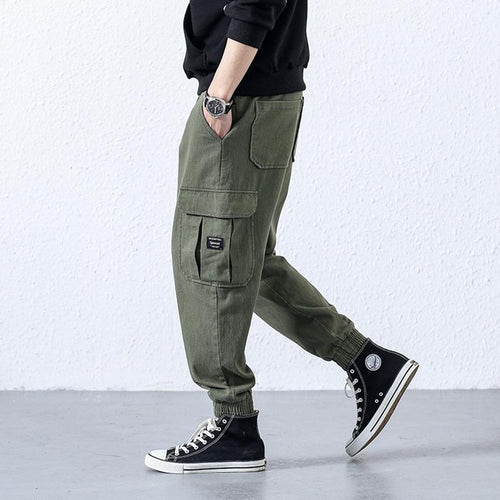 e59831c89b5 Workwear casual pants trousers Slim large pockets
