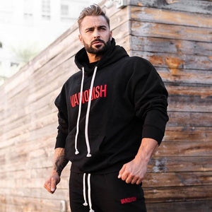 Men Large Size Embroidery Sports Cloth