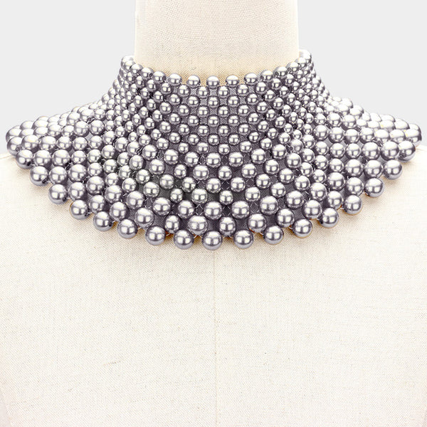 Pearl Armor Necklace