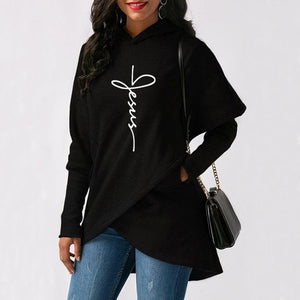 Jesus Print Fashion Sweatshirts