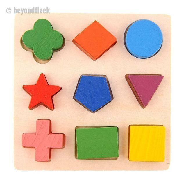Wooden Geometry Educational Toys