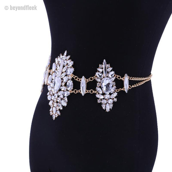 New Sexy Crystal Waist Chain