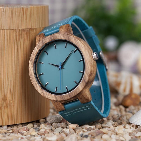 BOBO BIRD High Quality Bamboo Wood Watch For Men