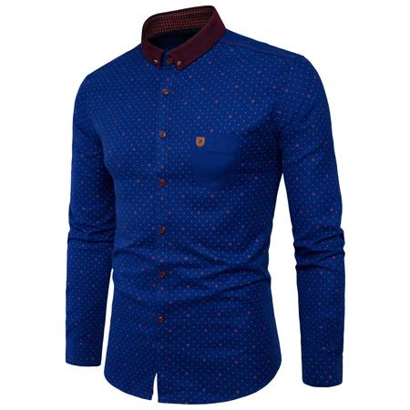 New Polka Dot Slim Fit Shirt