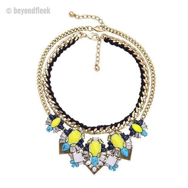 Trendy Flower Resin Spring and Summer Jewelry