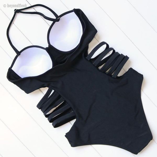 Omari One Piece Strappy Swimsuit