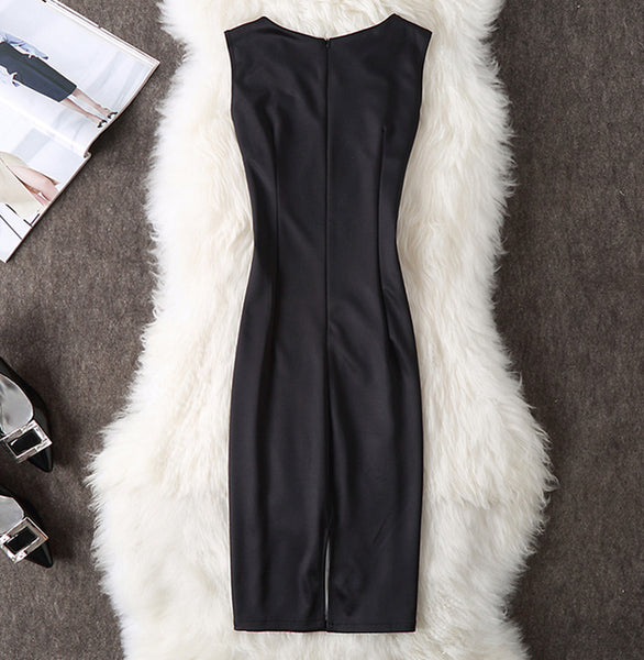 Monday Mood Office Pencil Bodycon Dress