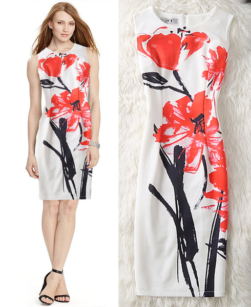 Artsy Friday Office Pencil Bodycon Dress