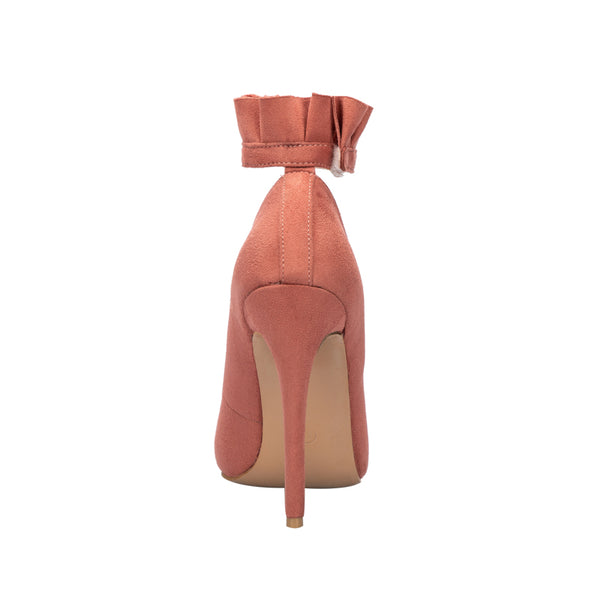 Ruffle Up Pointed Toe Pumps