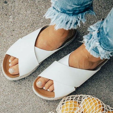 Sexy Open Toe Slides