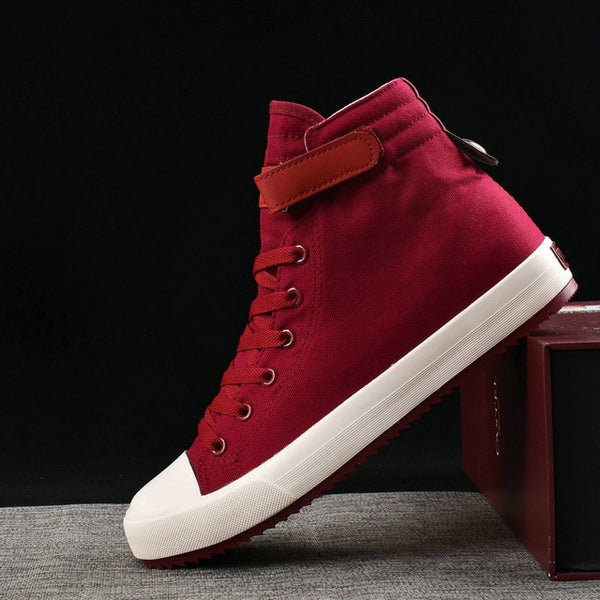 Fashion Canvas High top Sneakers Men