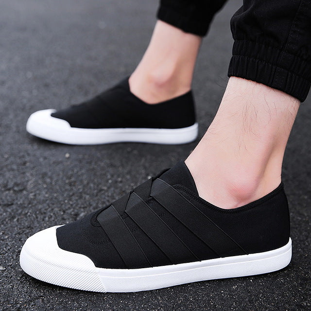 2019 Men Fashion Canvas Shoes