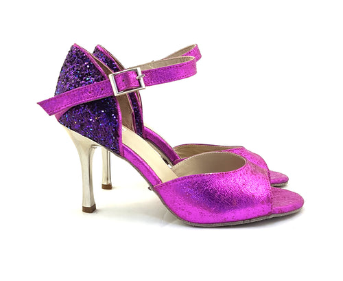 Alya Dance Shoes Purple Venom / Glitter AV05-P05