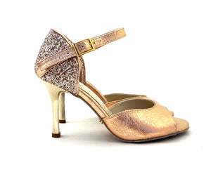 Alya Dance Shoes Rose Gold Venom / Glitter AV07-P07