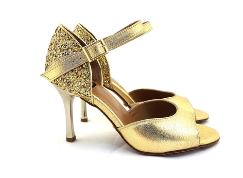 Alya Dance Shoes Gold Venom / Glitter AV12-P12
