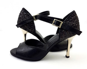 Alya Dance Shoes Black Venom / Glitter AV01-P01