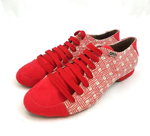 Aries Dance Shoes Red Color AH06-V06