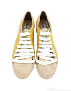 Aries Dance Shoes Yellow-Cream Color AH12-V02
