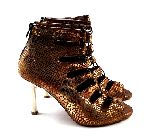Electra Dance Shoes Bronze Piton Multi E-PM03
