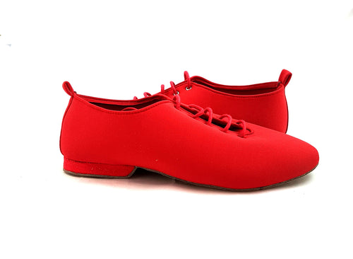 Jazz Dance Shoes Red J-S06