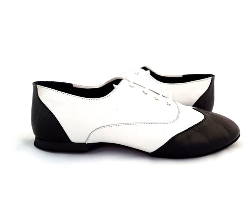 Jazz Dance Shoes Back and White J-L01-L10