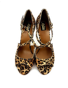 ORION Leopard Leather Printed