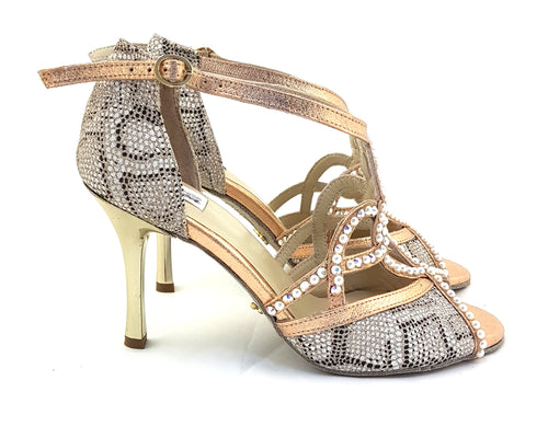 Vela Dance Shoes Rose Gold Venom V-SV07