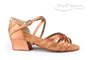 PD301 BASIC Dark Tan Satin