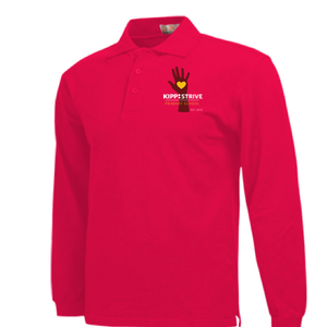 Kindergarten Polo (long sleeve) - red