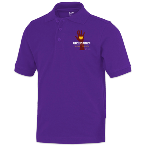 3rd Grade Polo (short sleeve) - purple