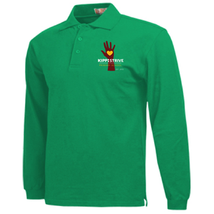 2nd Grade Polo (long sleeve) - green