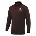 7th Grade Polo (long sleeve) - Burgundy