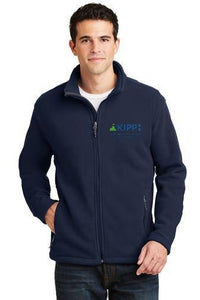 Full Zip Blue Fleece