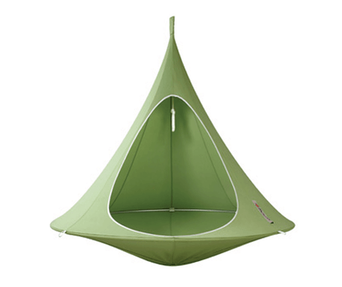 Cacoon Double Hammock - Leaf Green
