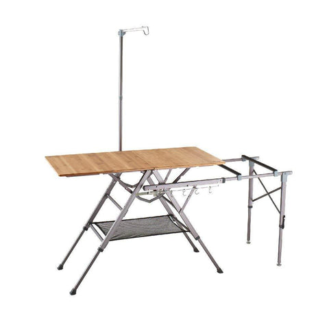 Kovea Bamboo One Action Kitchen Table [L]