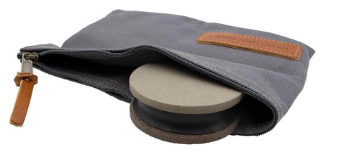 Straight Grain Supply Sharpening Puck 220/400 with Pouch