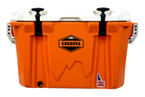 Cordova Companion (28QT) Cooler Small - Orange / White