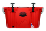 Cordova Companion (28QT) Cooler Small - Red / White