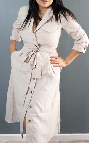 Carmen Trench Dress