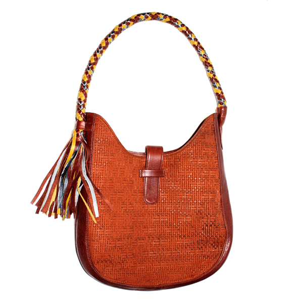 Beautiful and unique Shoulder bag with Tassel.
