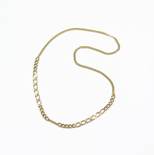 Degradé Chuncky Chain Long Necklace