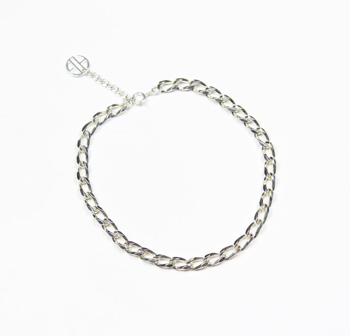 Silver Chuncky Chain Necklace